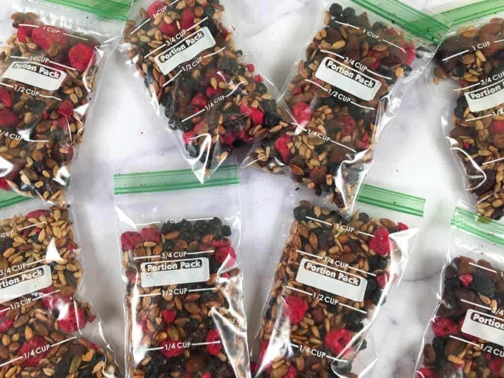 trail mix without nuts
