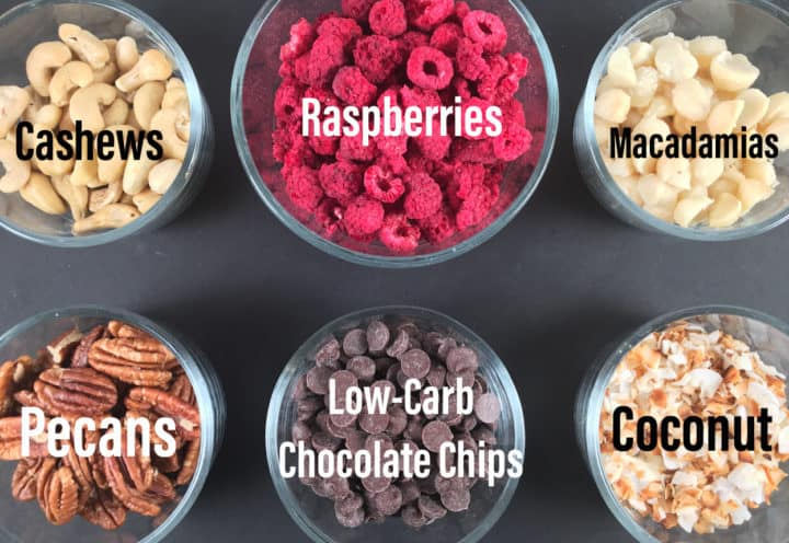 Berries Nuts Keto Chocolate Chips Coconut