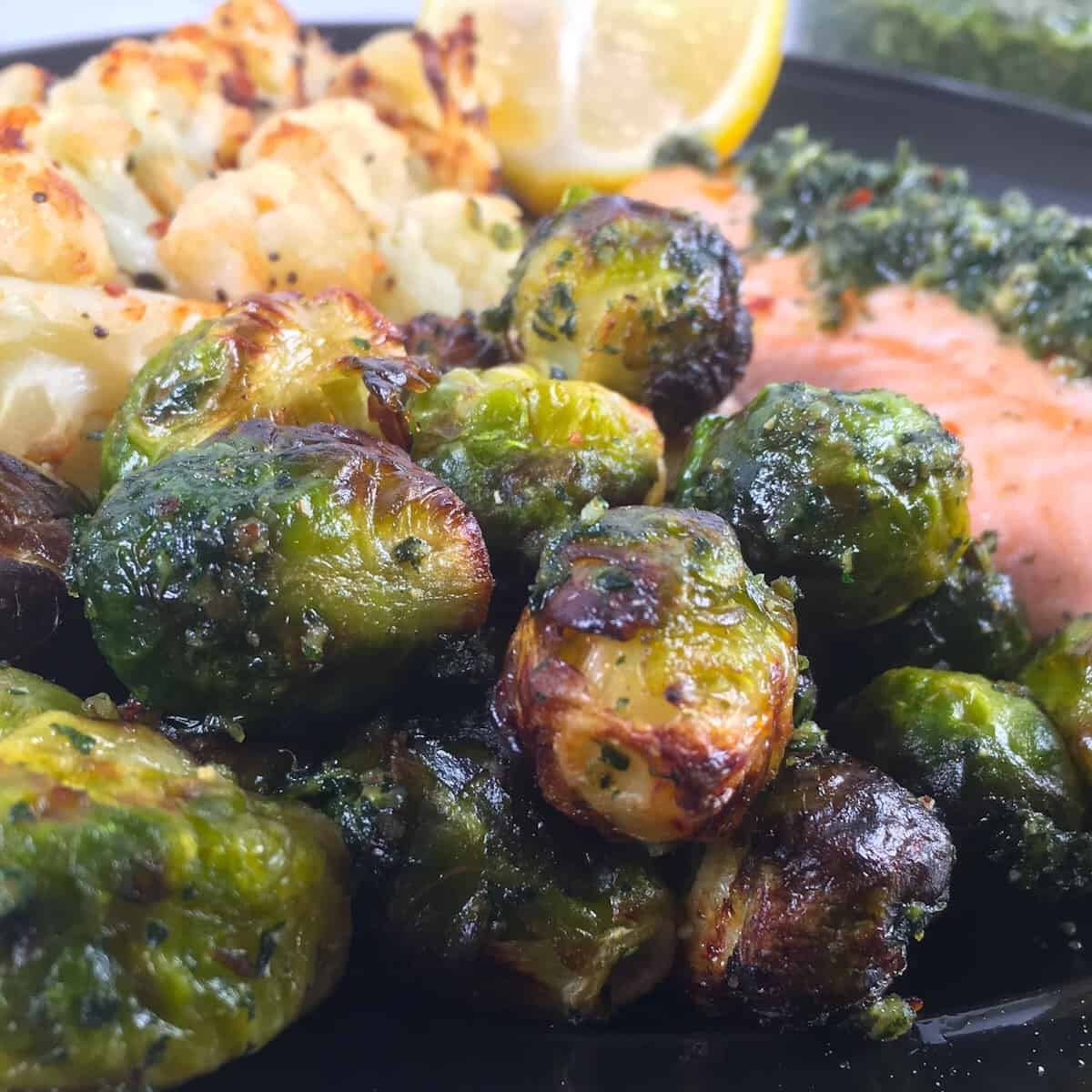 air fryer brussels sprouts vegetables