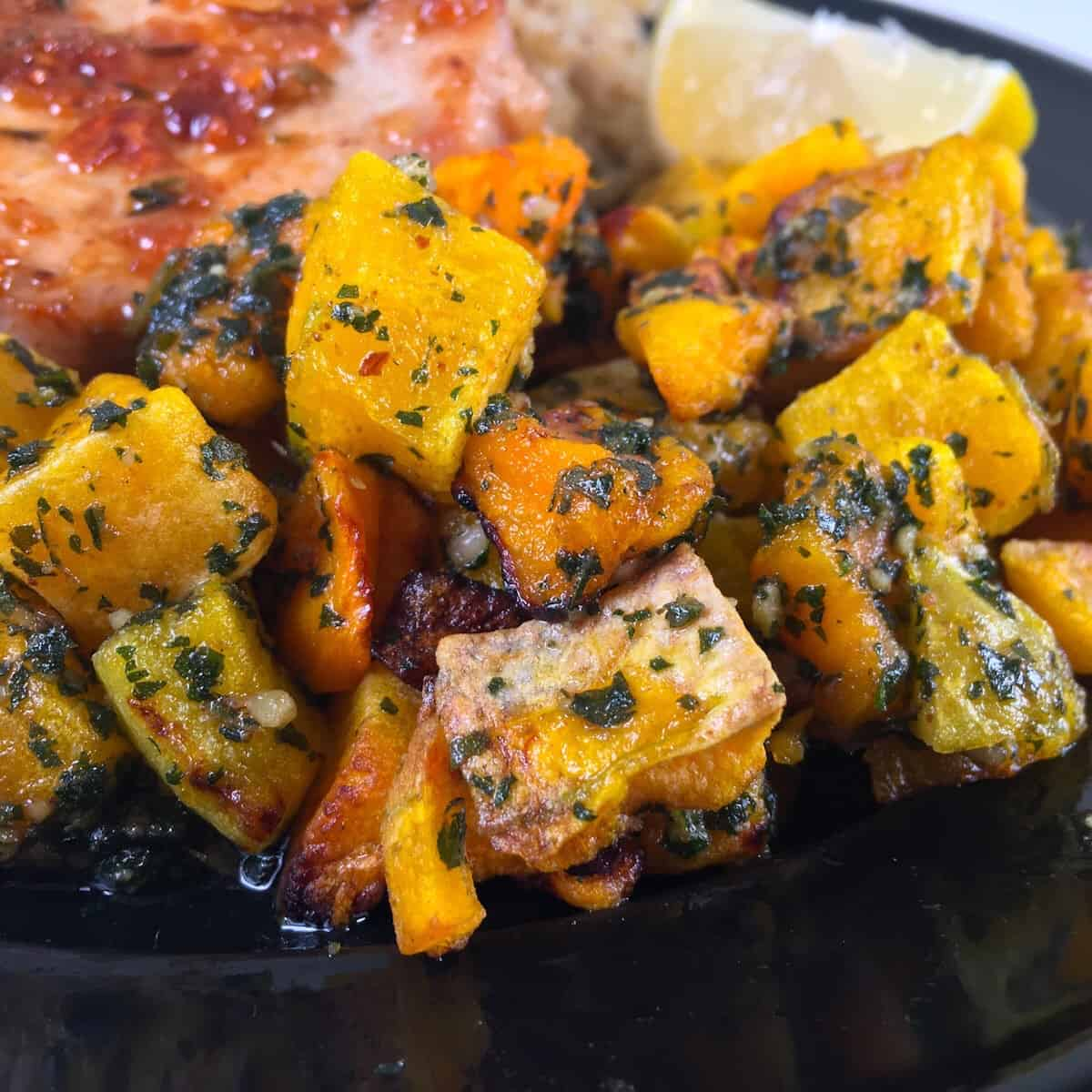 frozen squash cooked in the air fryer