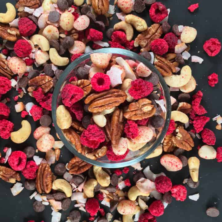 low carb trail mix