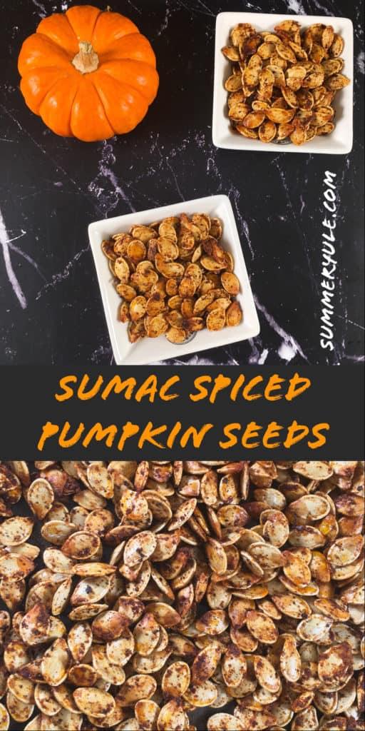 sumac roasted keto pumpkin seeds recipe