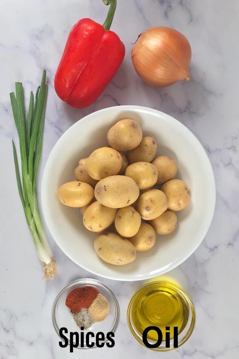 air fryer home fries ingredients