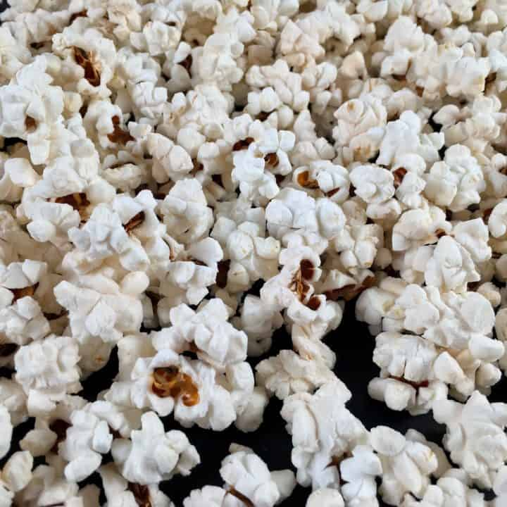 air fryer popcorn