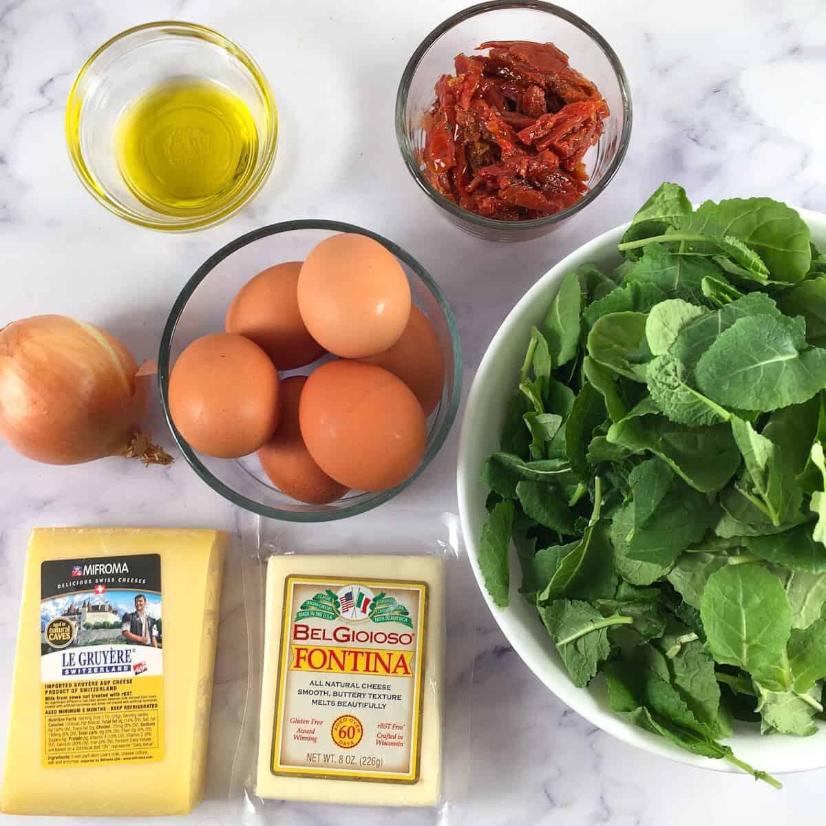 high protein frittata ingredients