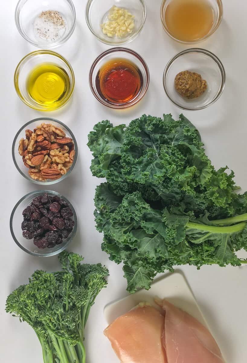 ingredients for chik fil a salad copycat