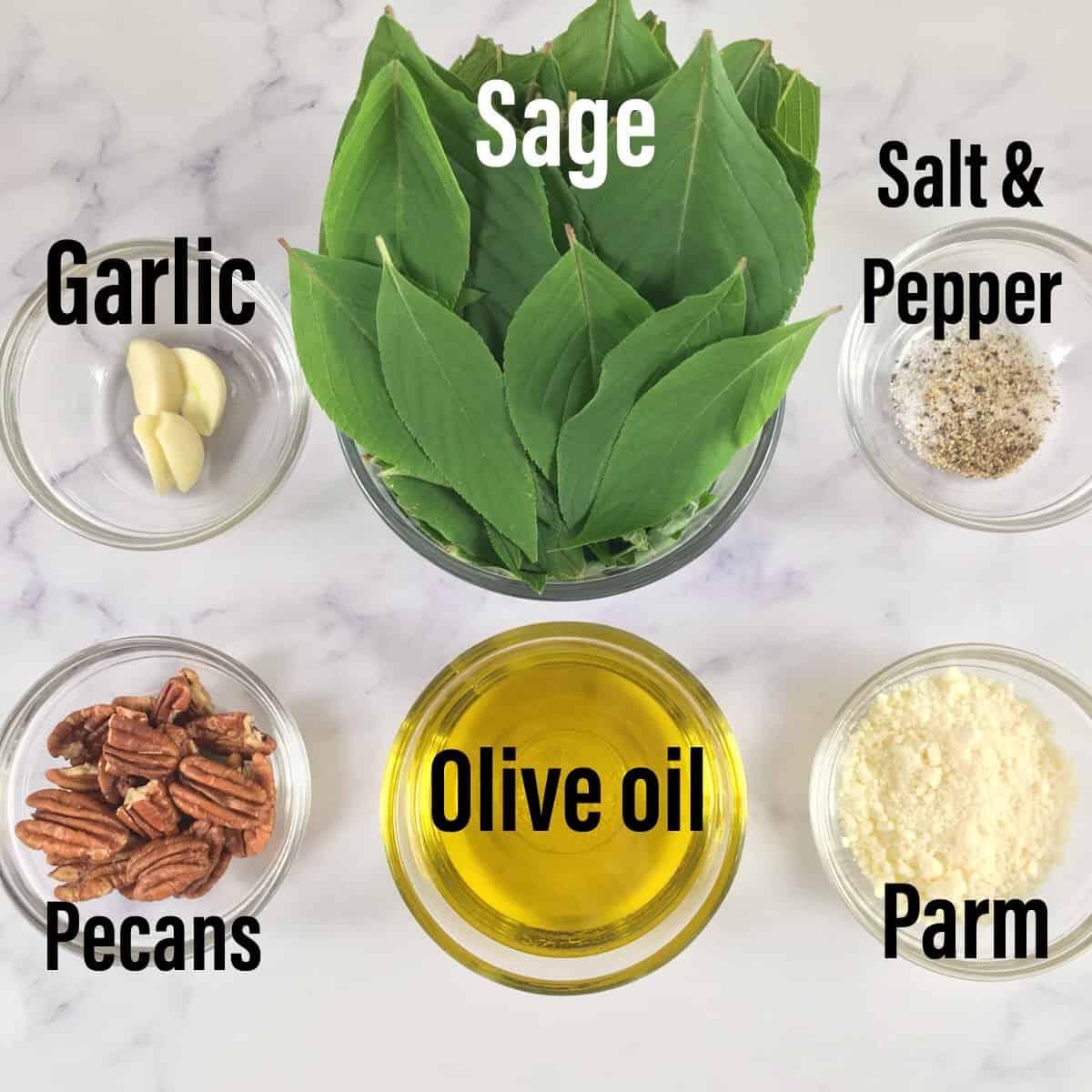 keto pesto ingredients