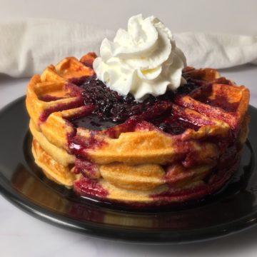 kodiak cake waffles