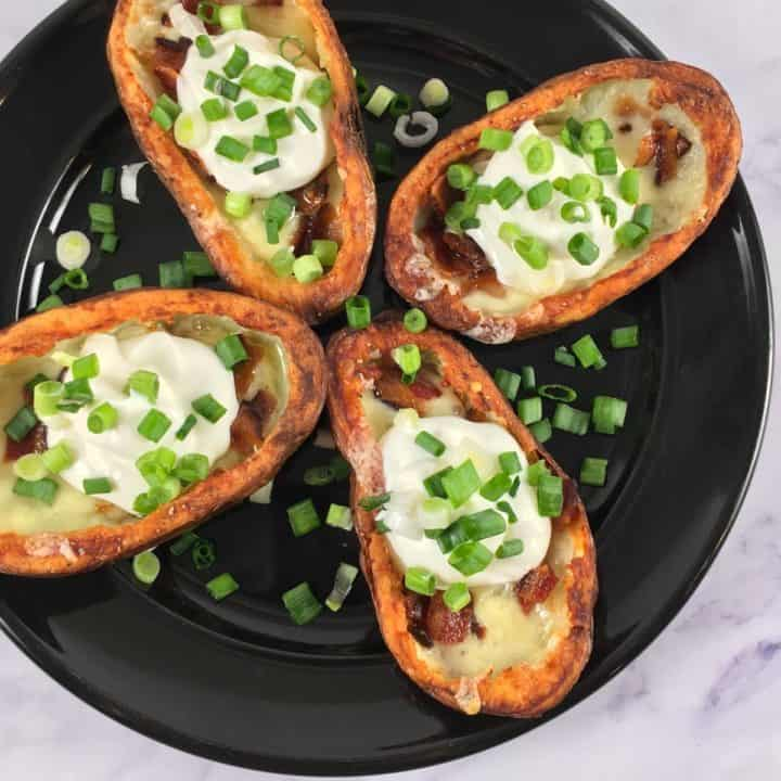 potato skins in the air fryer