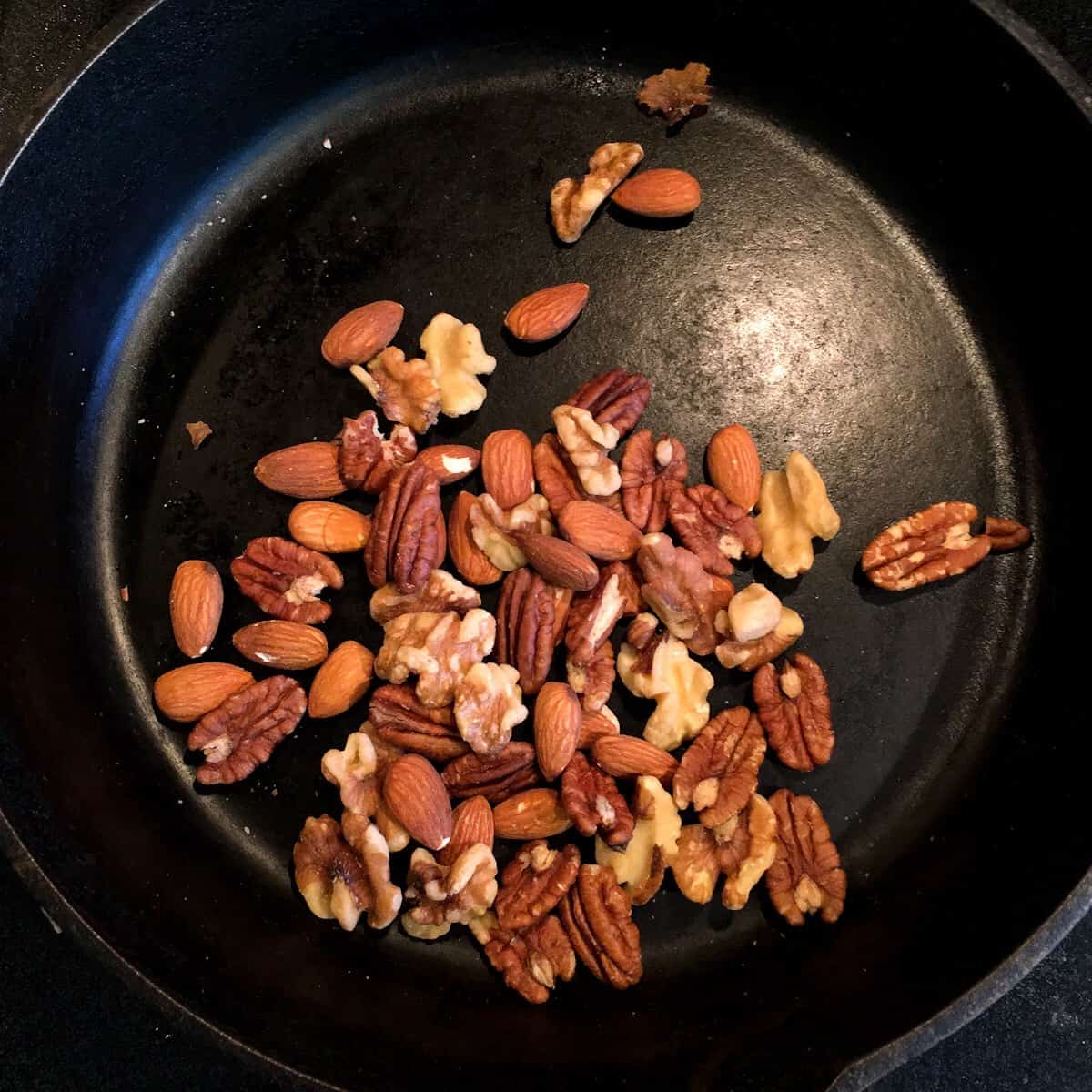toasted nuts