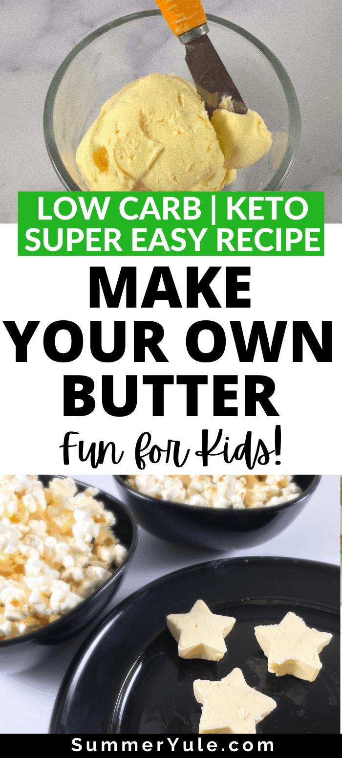 DIY homemade butter recipe