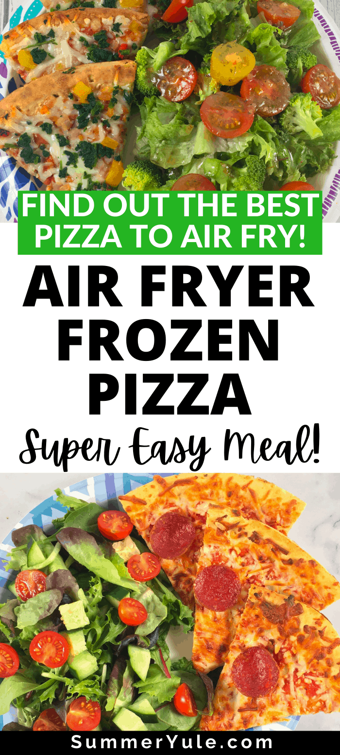 How to make air fryer frozen pizza