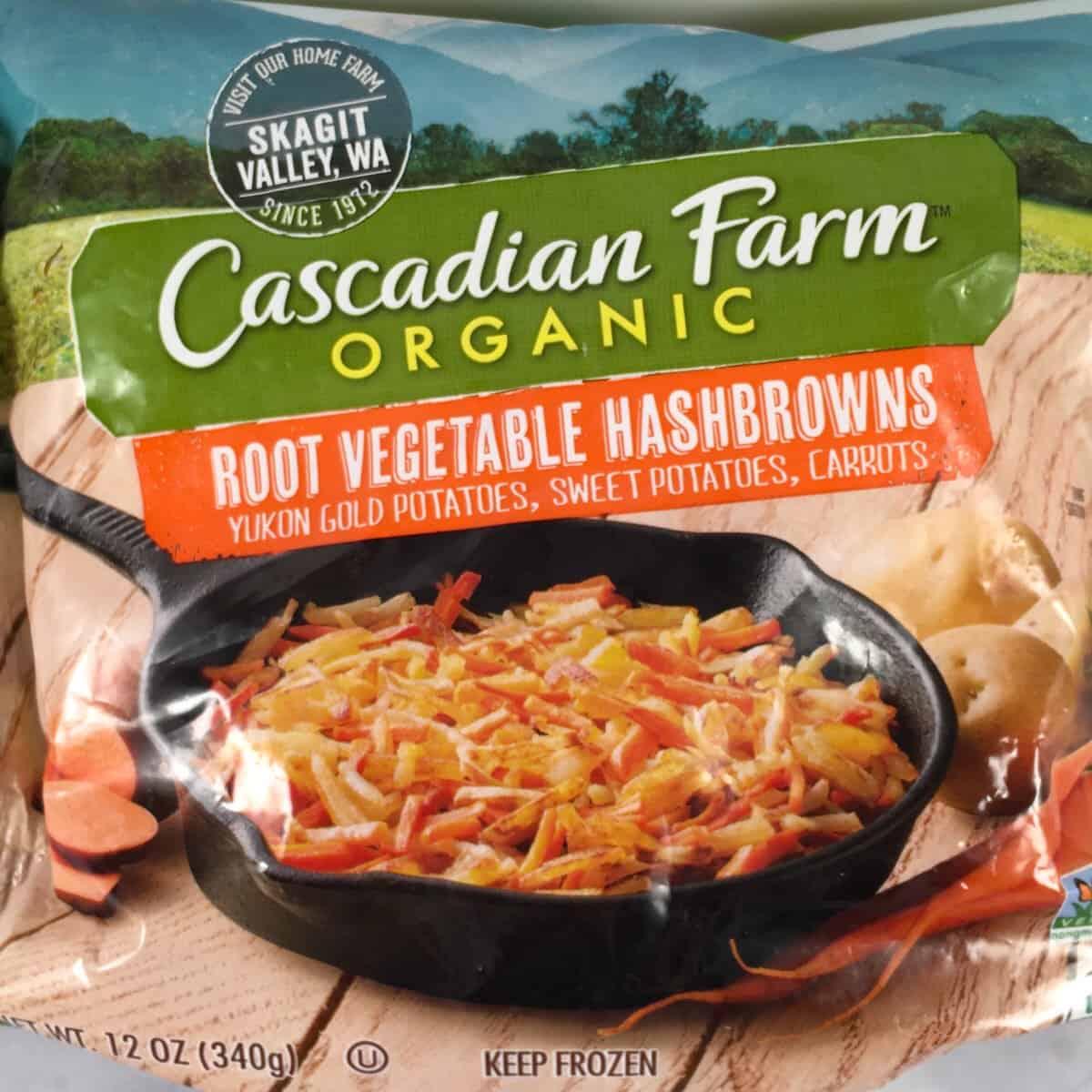cascadian farms frozen hash browns