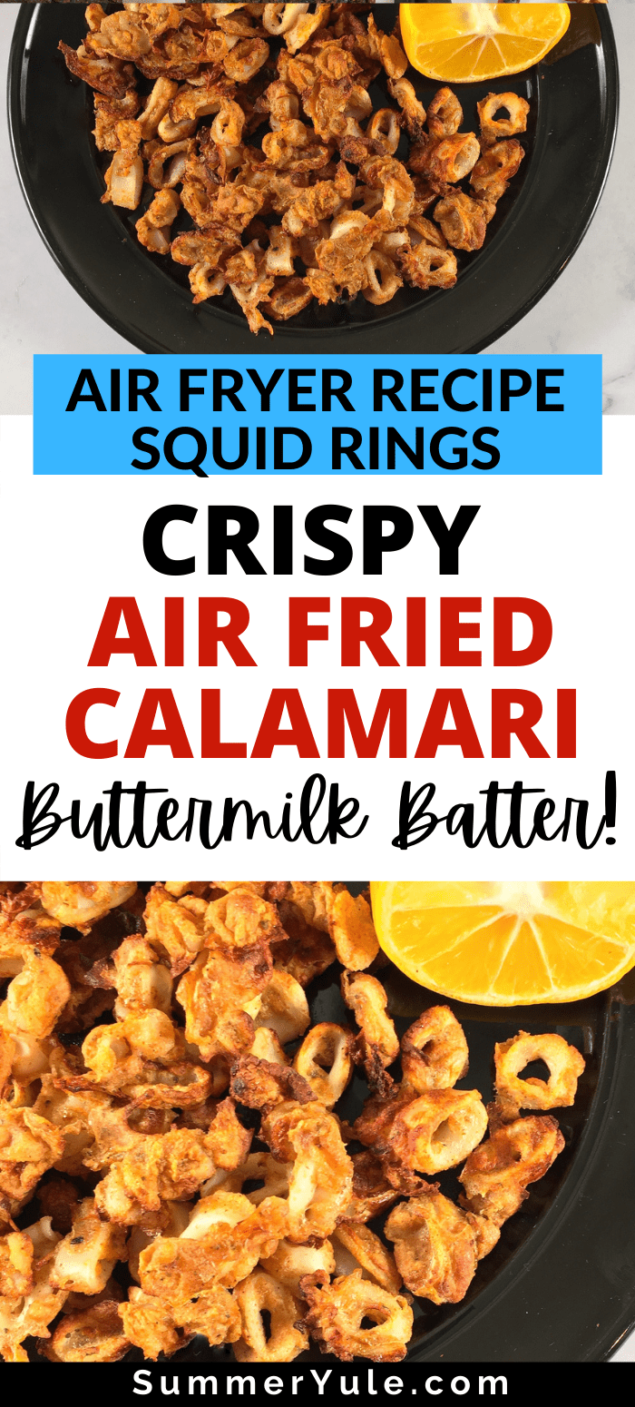 crispy air fried calamari
