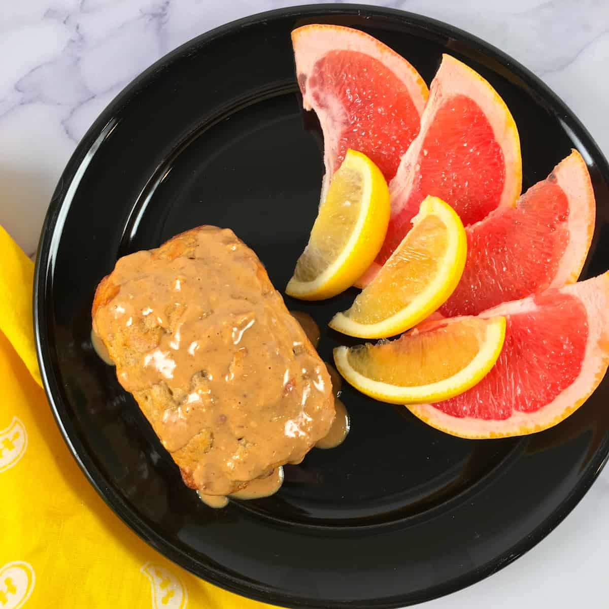 high protein banana bread with peanut butter