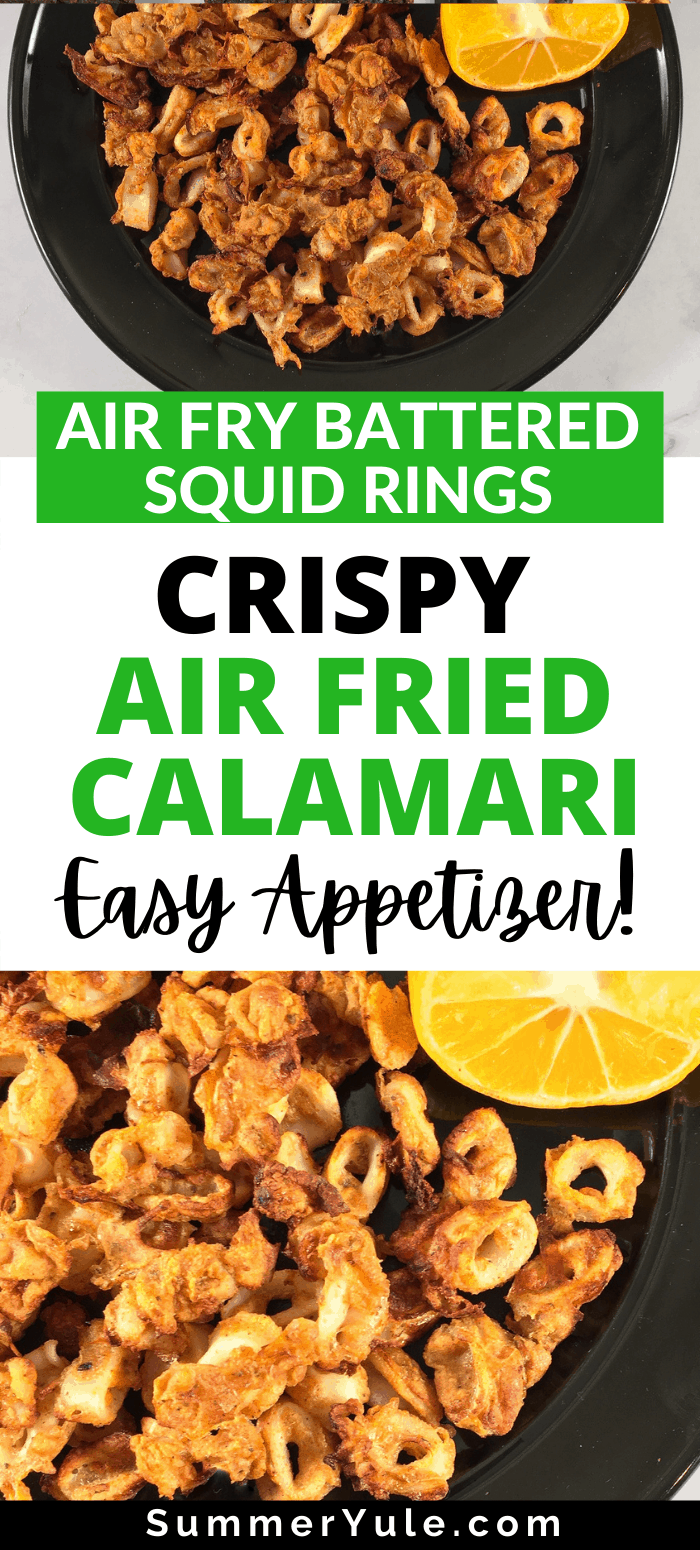how to air fry calamari