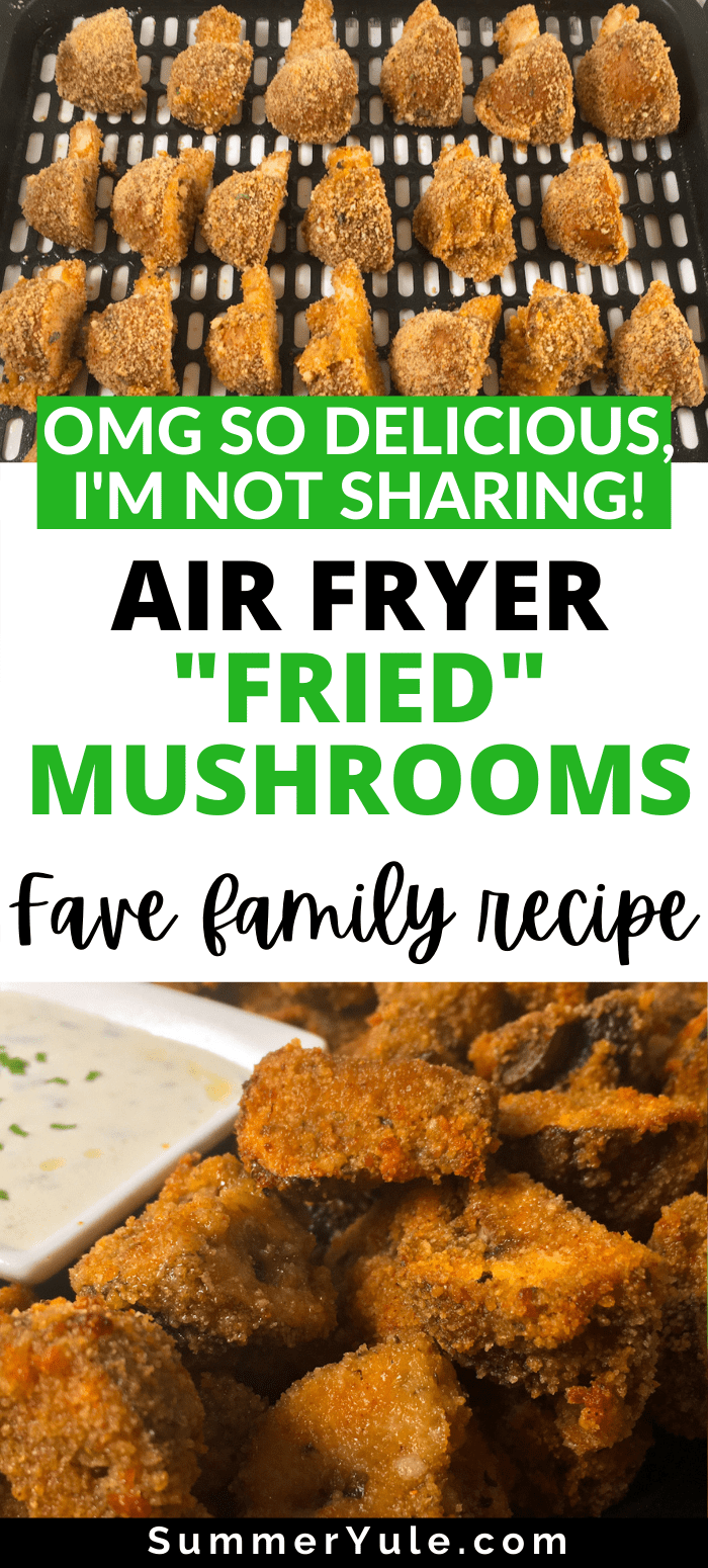 how to make air fryer breaded mushrooms