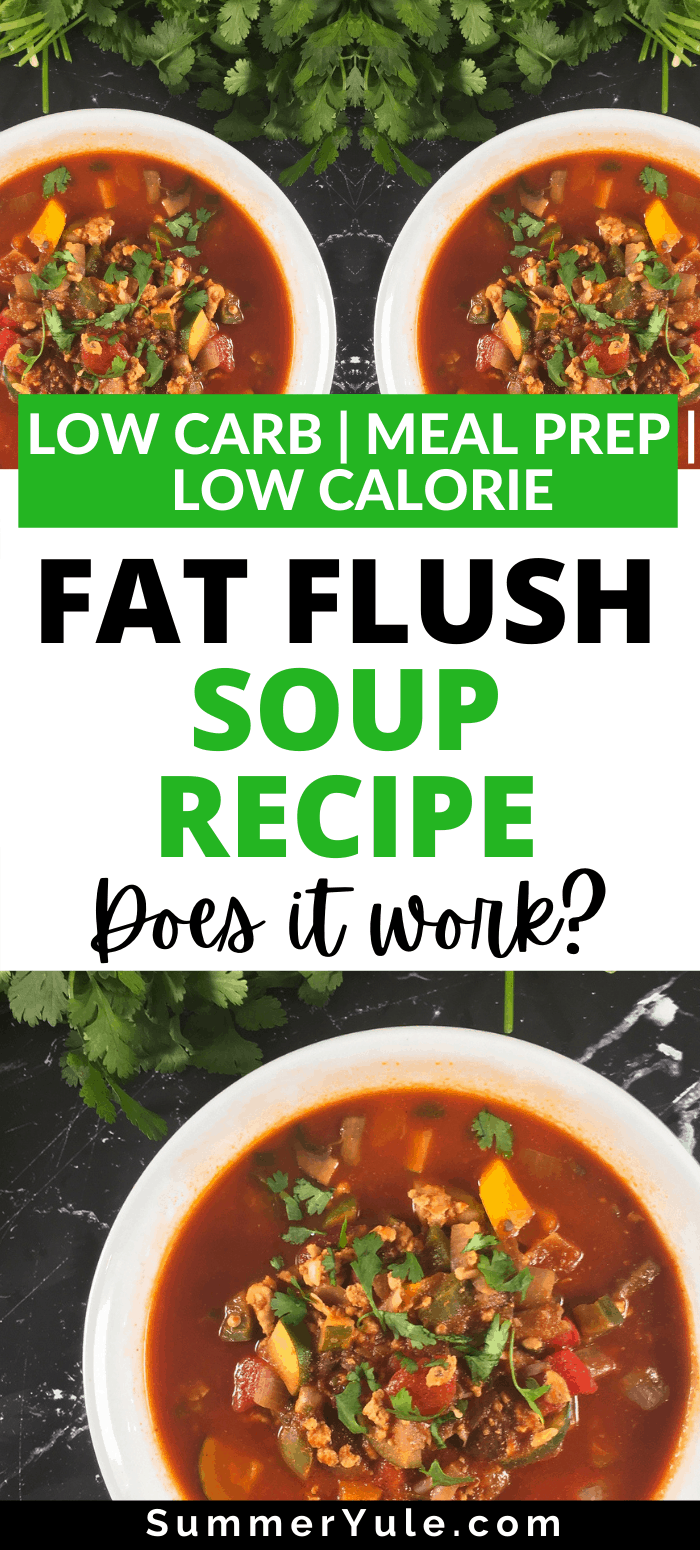 how to make fat flush soup