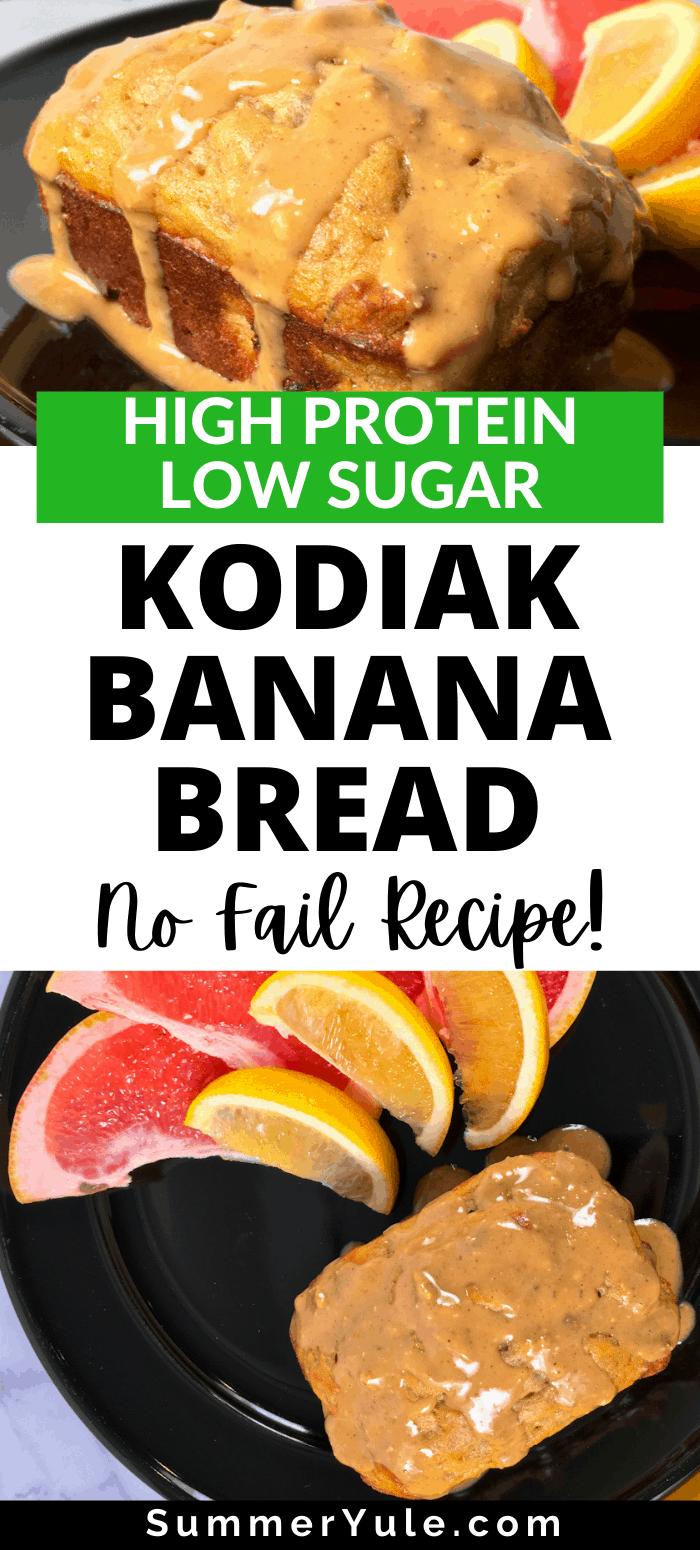 how to make kodiak banana bread