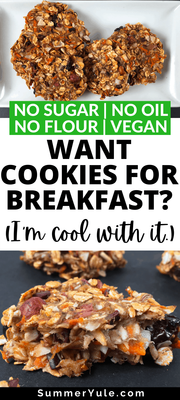 how to make vegan banana cookies