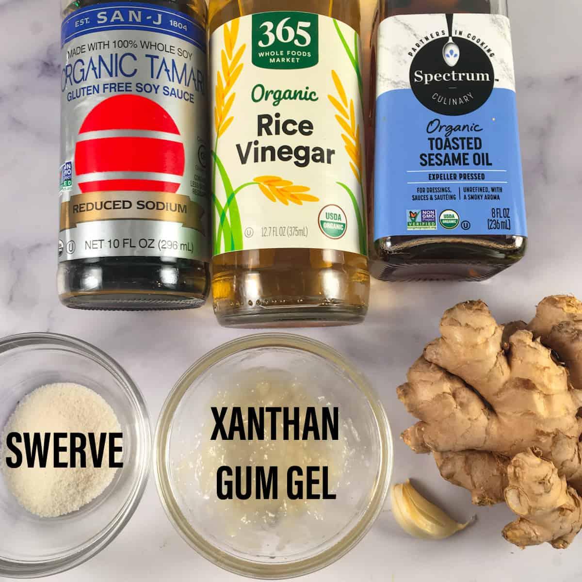 sugar free teriyaki sauce ingredients