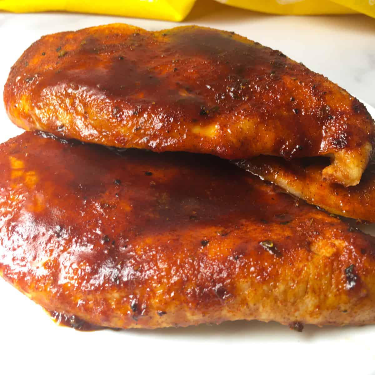 air fryer bbq chicken recipe
