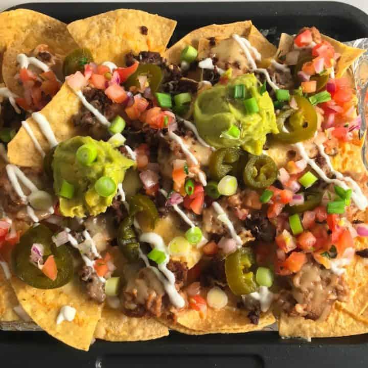 air fryer nachos