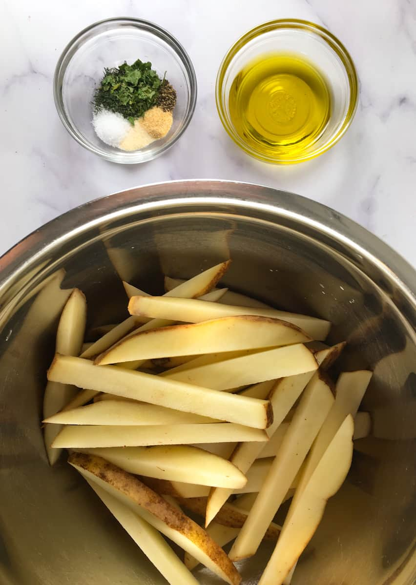 baked fries ingredients