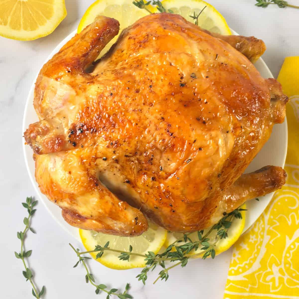 cornish game hen in air fryer
