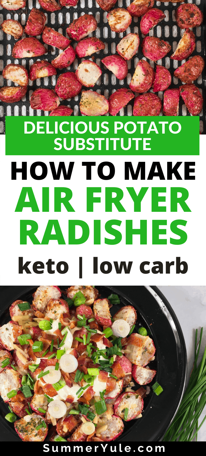 how to make air fryer radishes