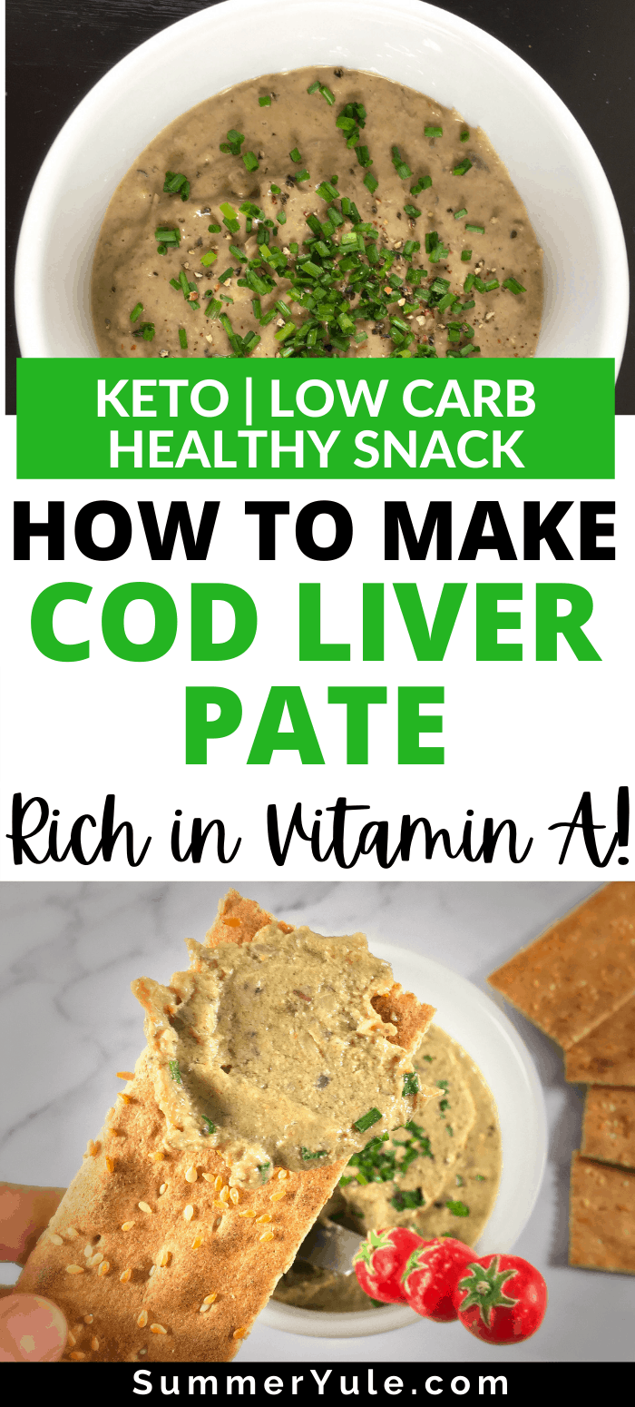 how to make cod liver pate
