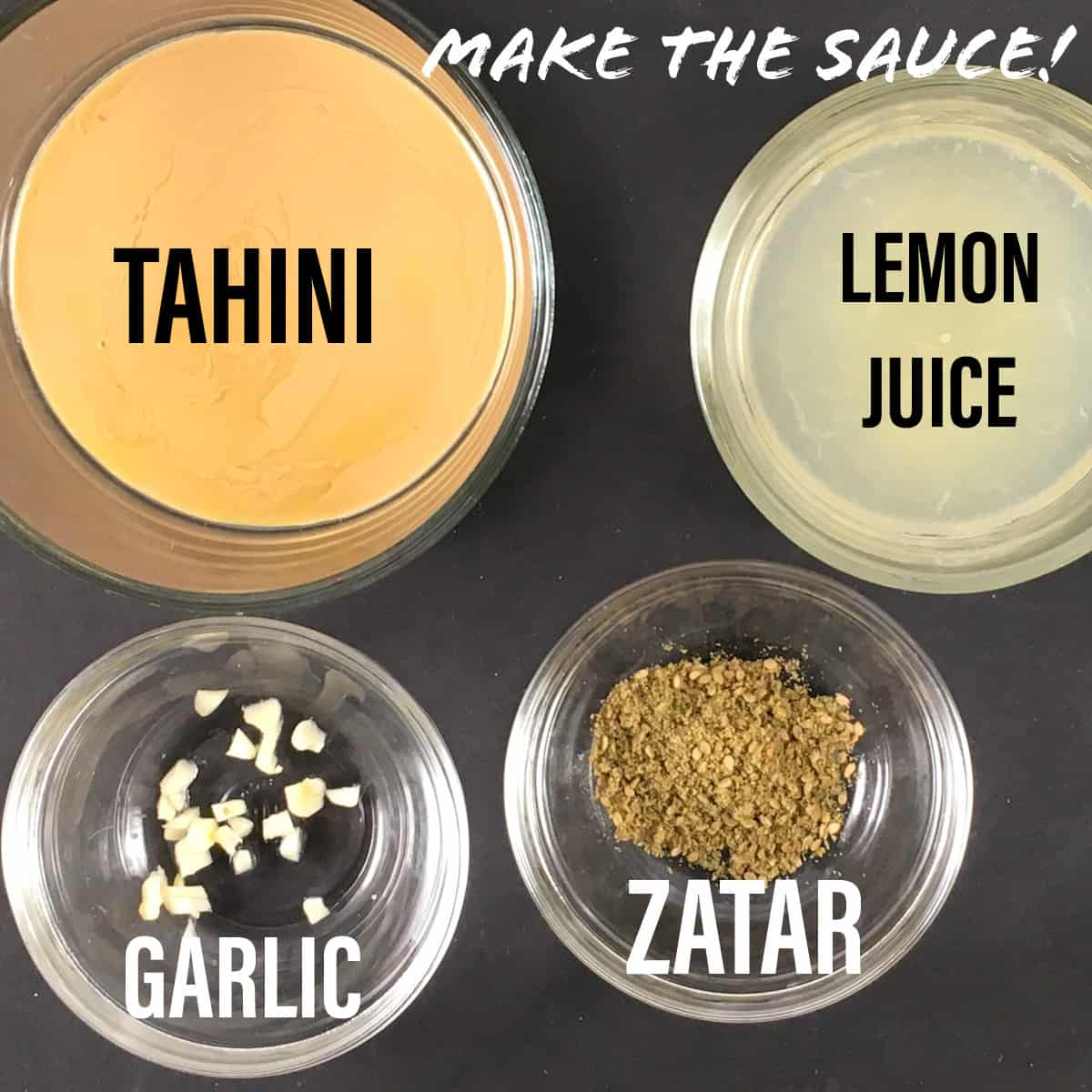lemon tahini sauce ingredients