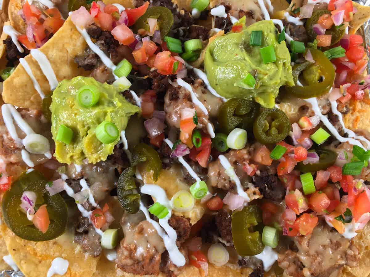 nachos made in air fryer