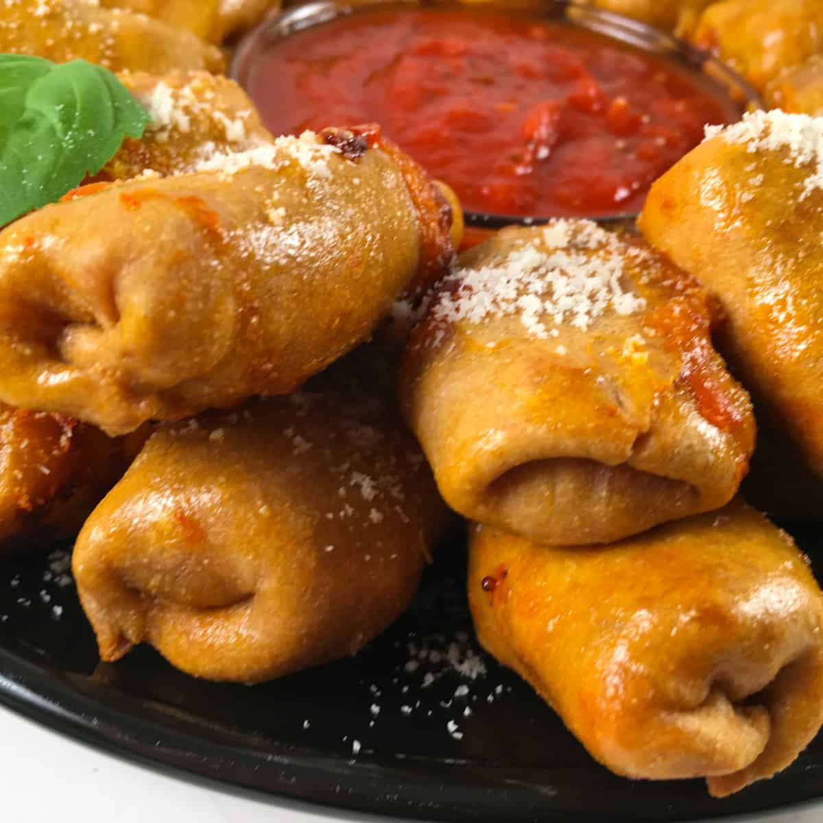 air fried pizza rolls