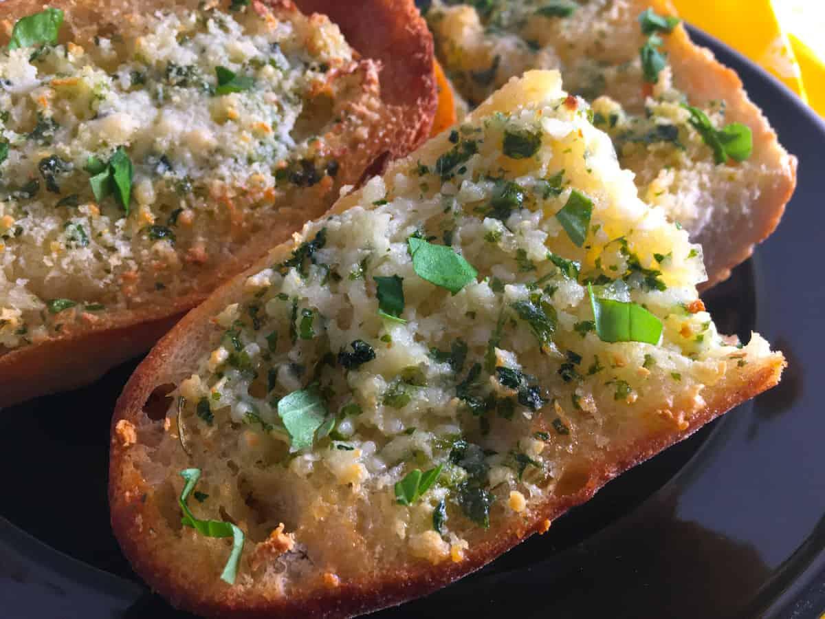 air fryer garlic bread recipe