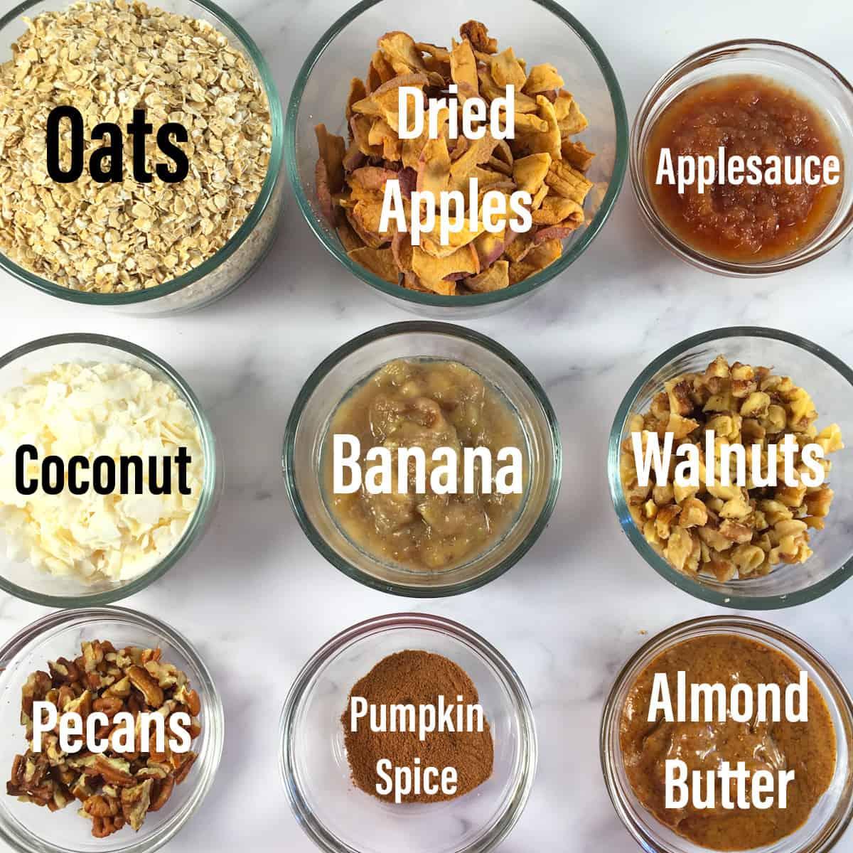 air fryer granola ingredients