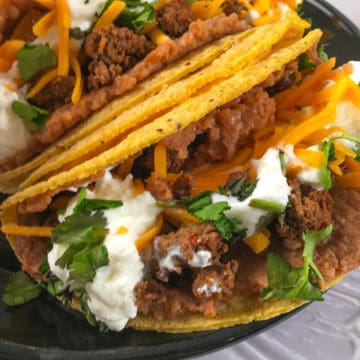 beefy 5 layer burrito