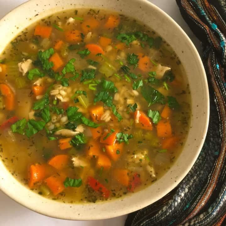 chicken feet soup