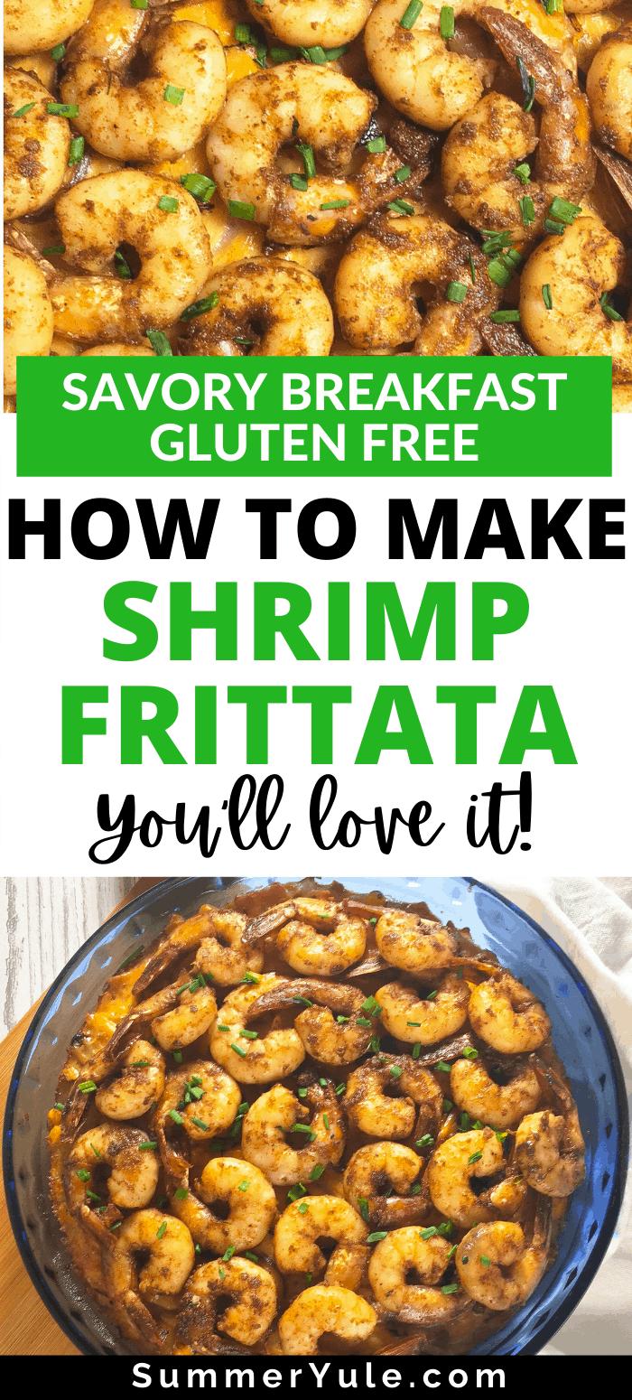 gluten free shrimp frittata
