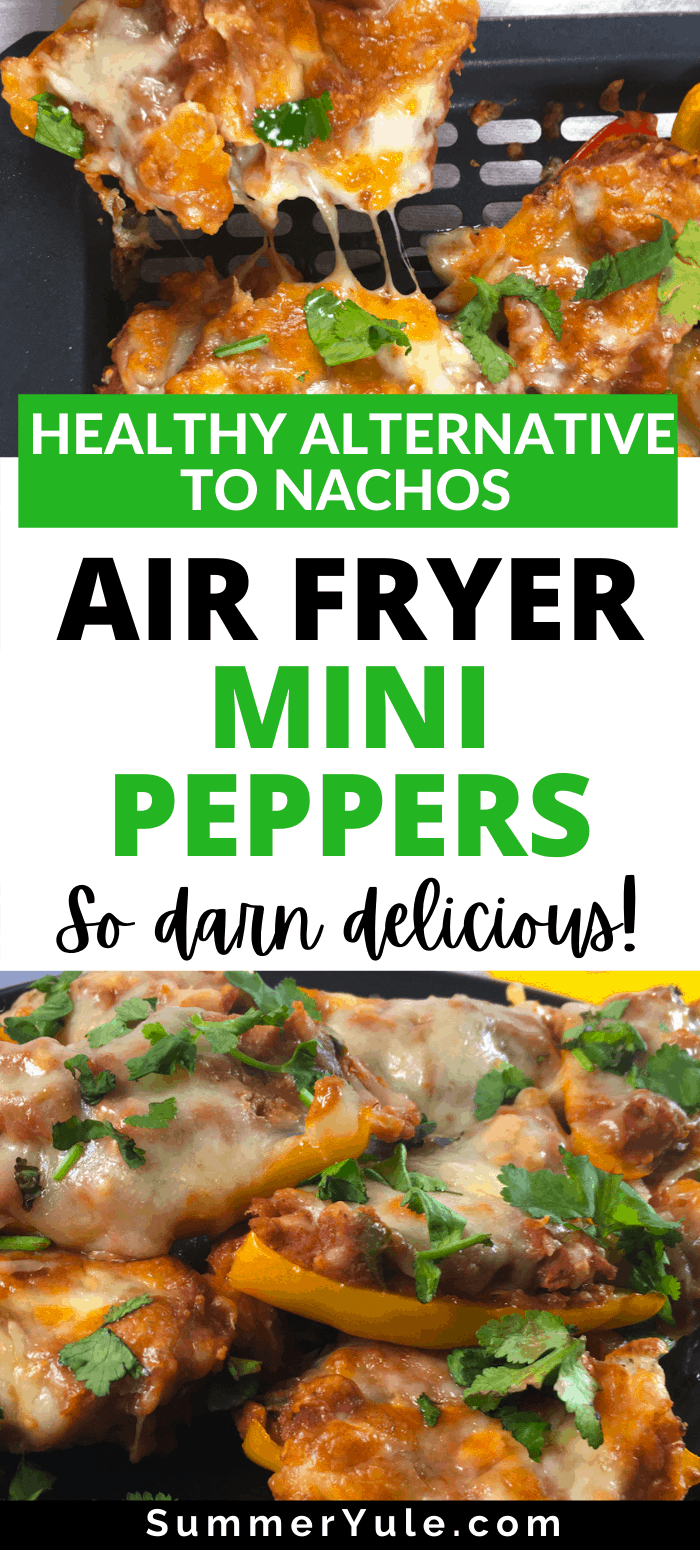 how to air fry mini peppers