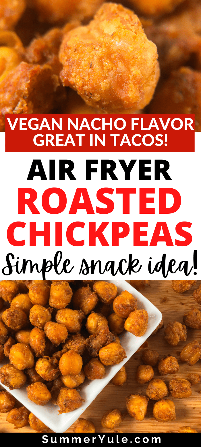 how to make air fryer chickpeas