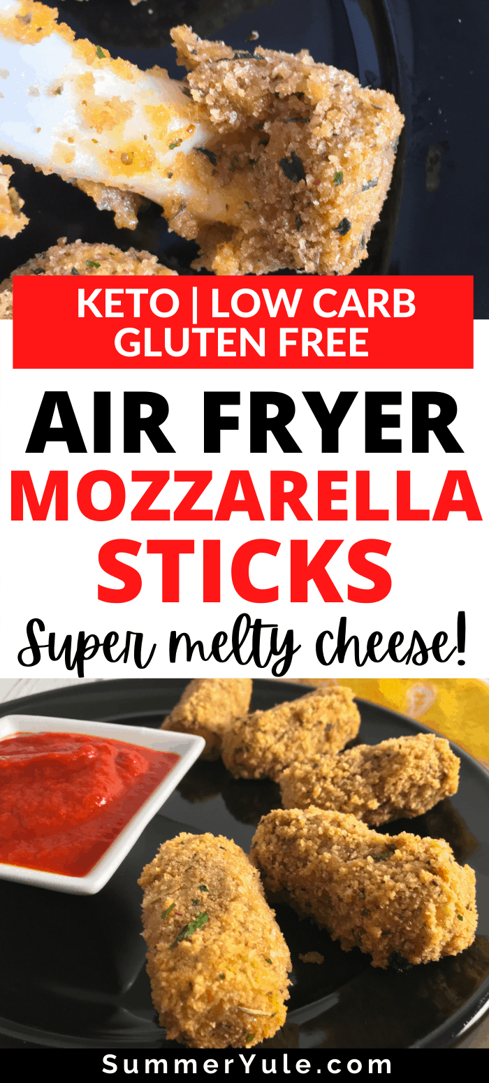 how to make air fryer frozen mozzarella sticks