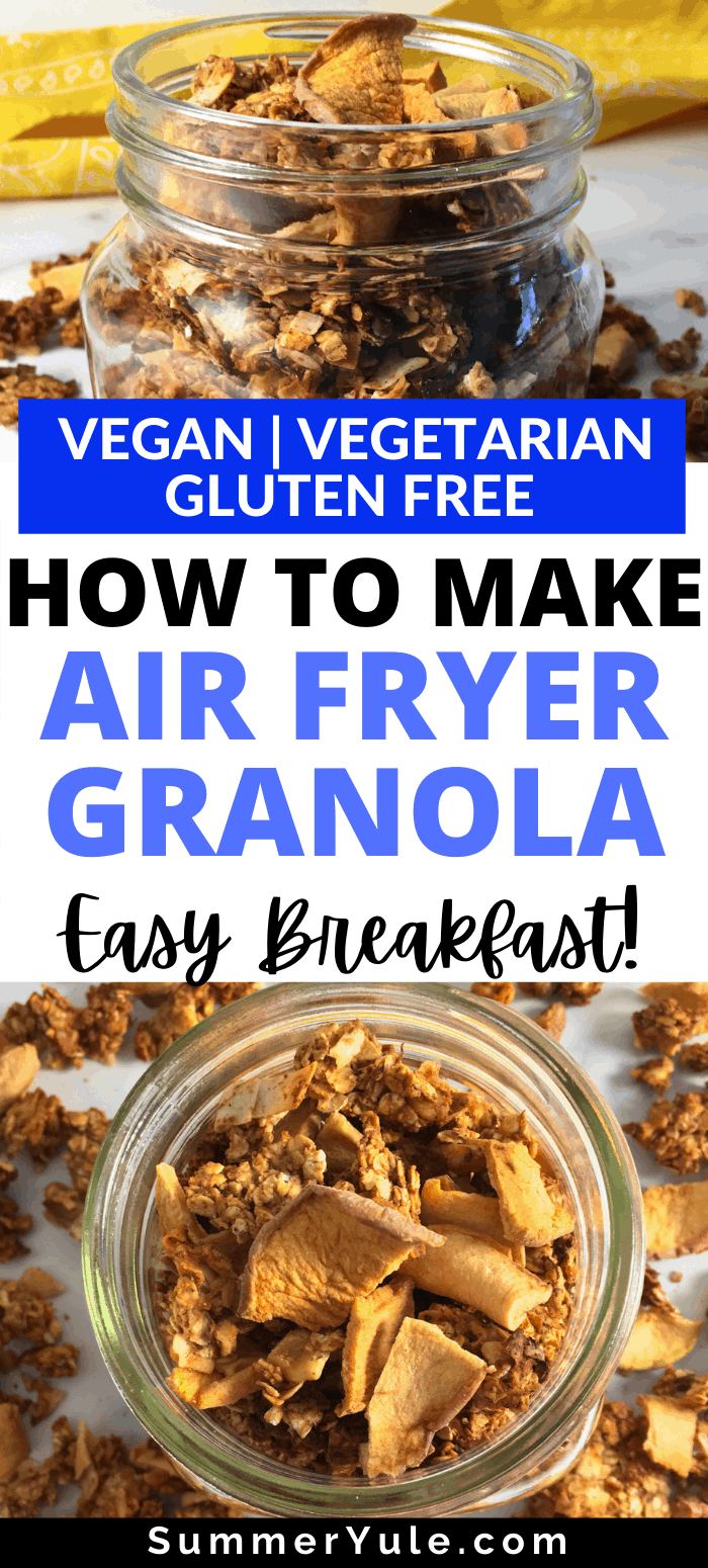 how to make air fryer granola