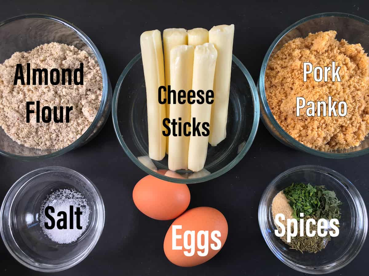 mozzarella sticks ingredients
