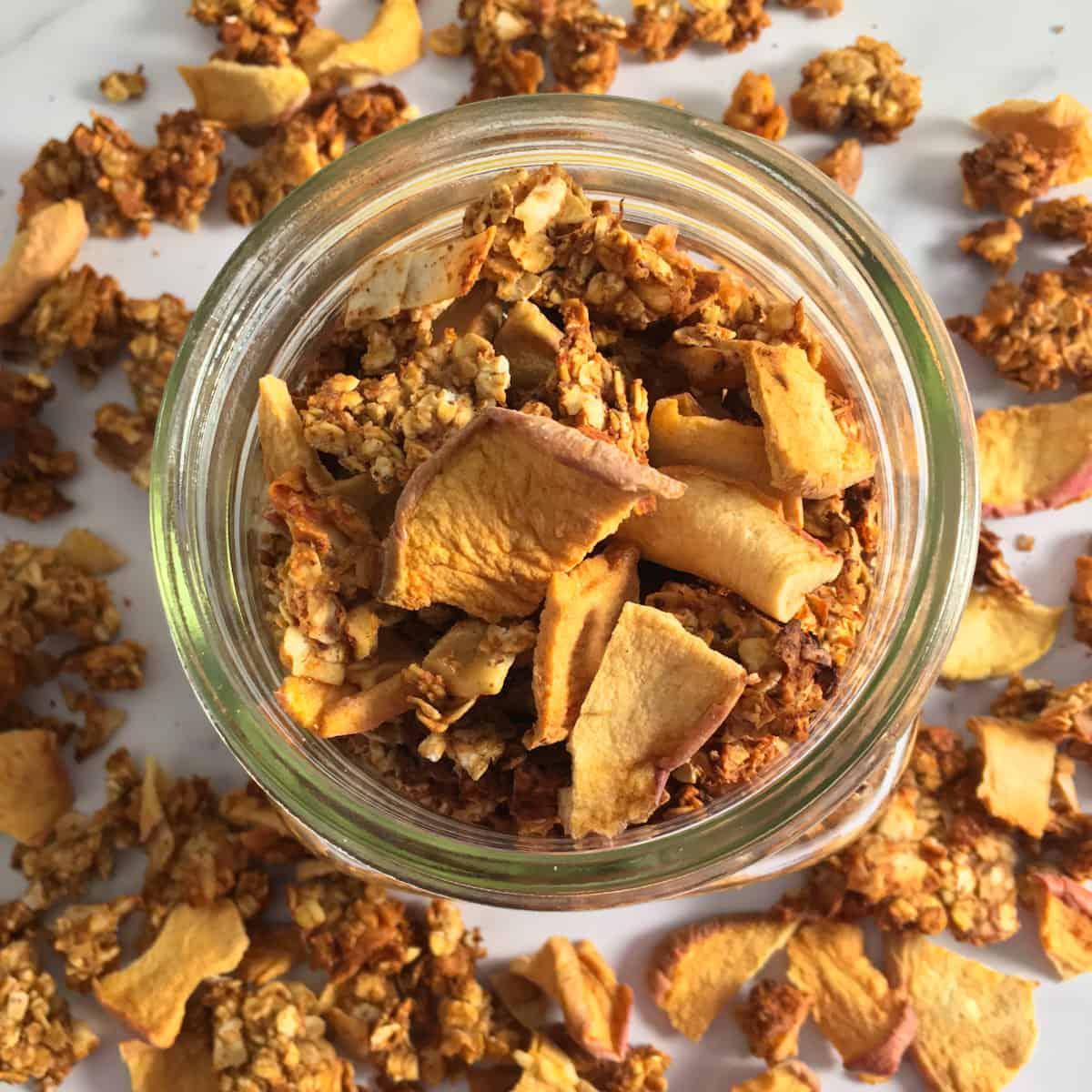 vegan granola air fry recipe