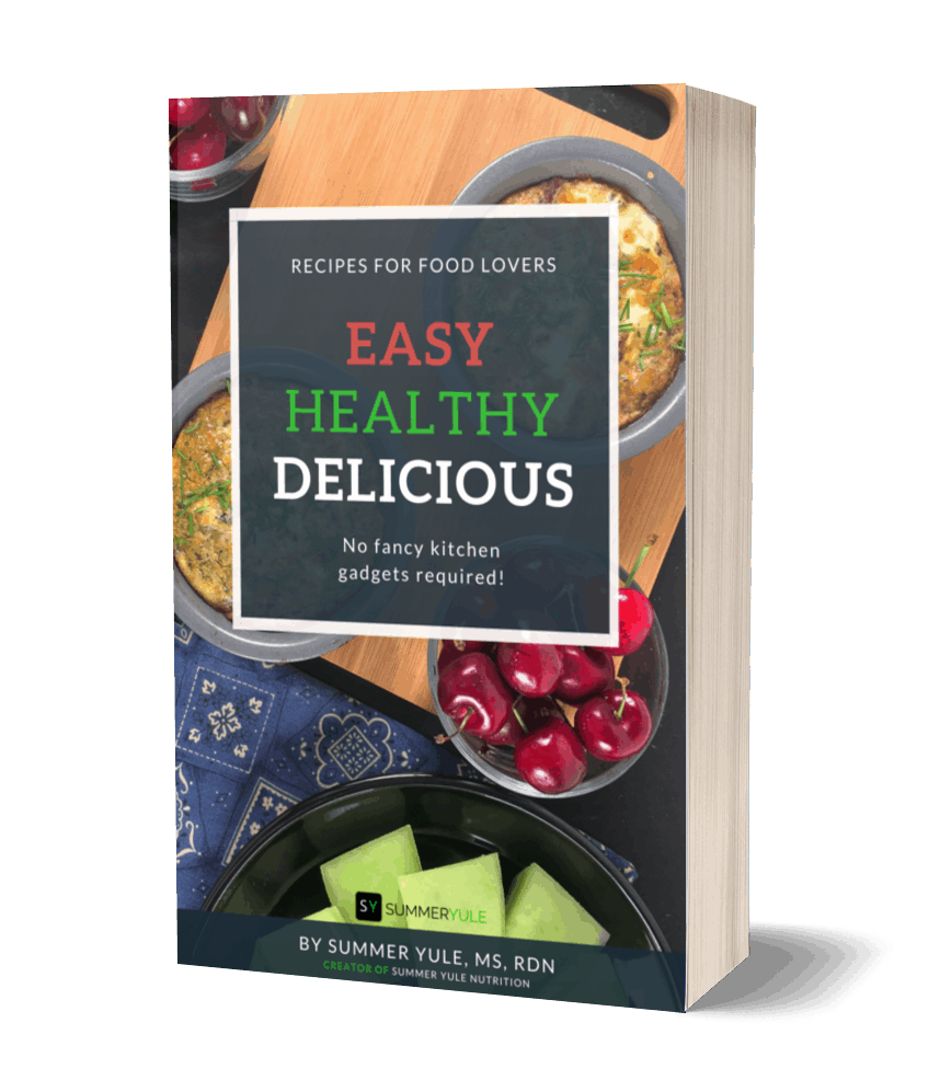 3D Cover Easy Healthy Delicious