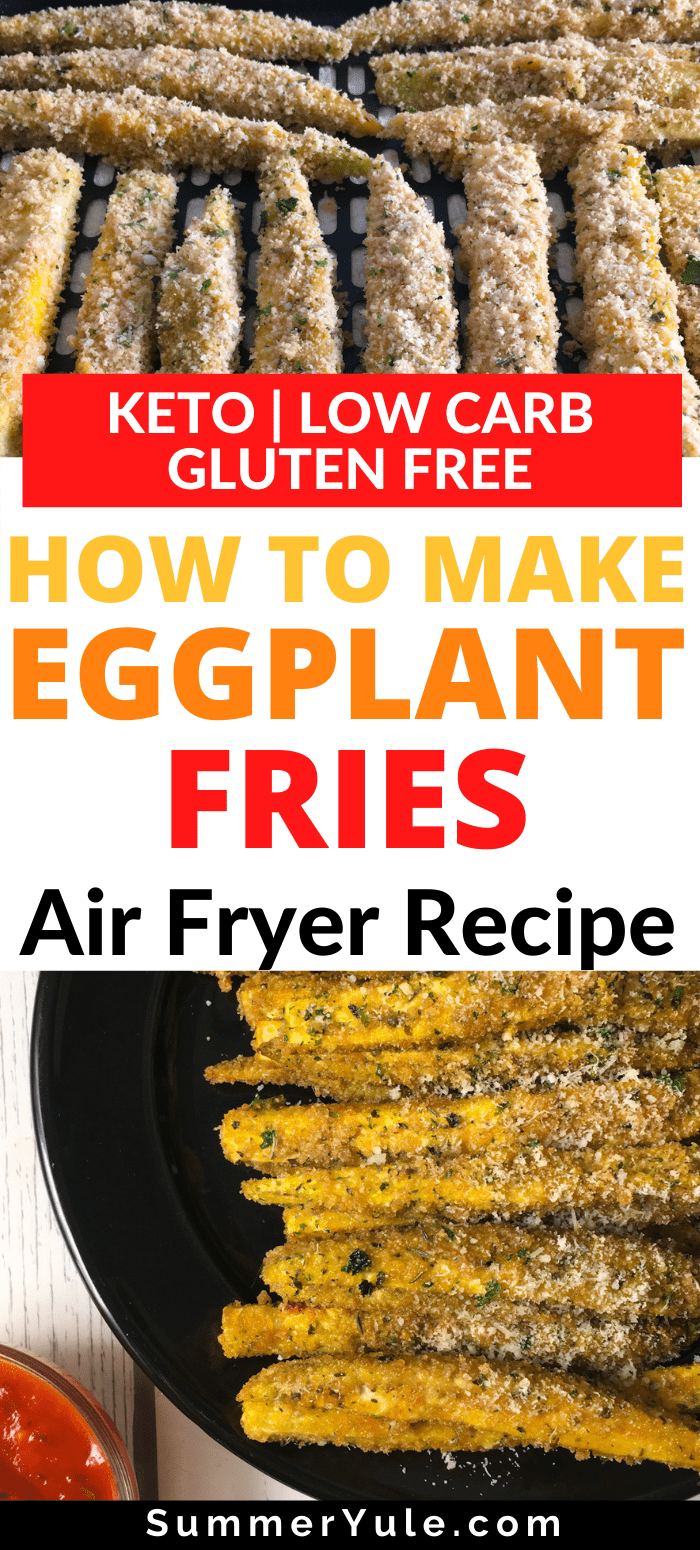 air fry eggplant fries
