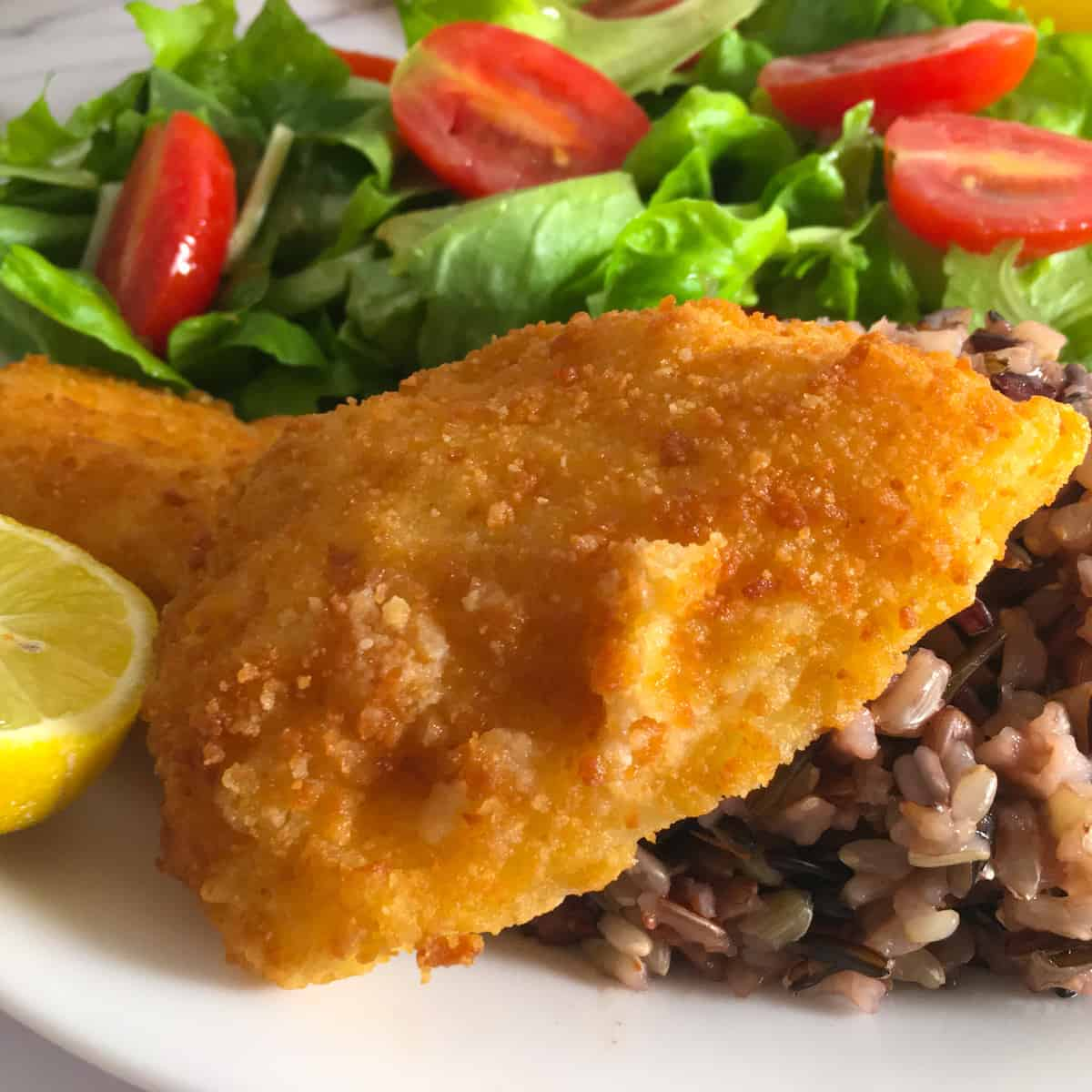 breaded fish in air fryer