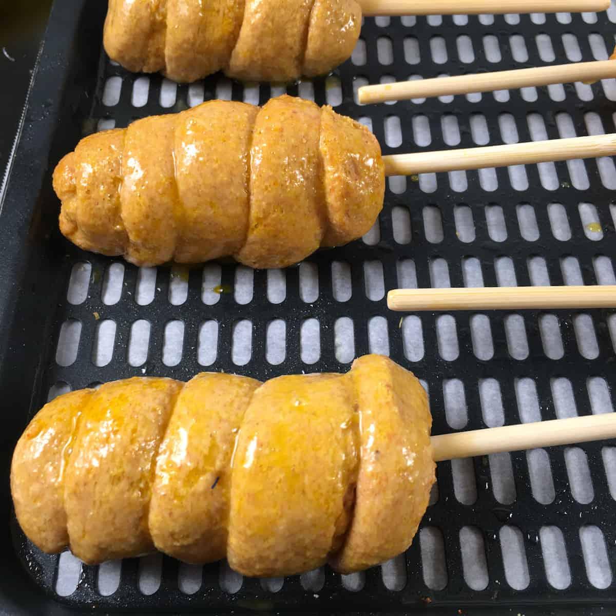 corn dogs air fryer