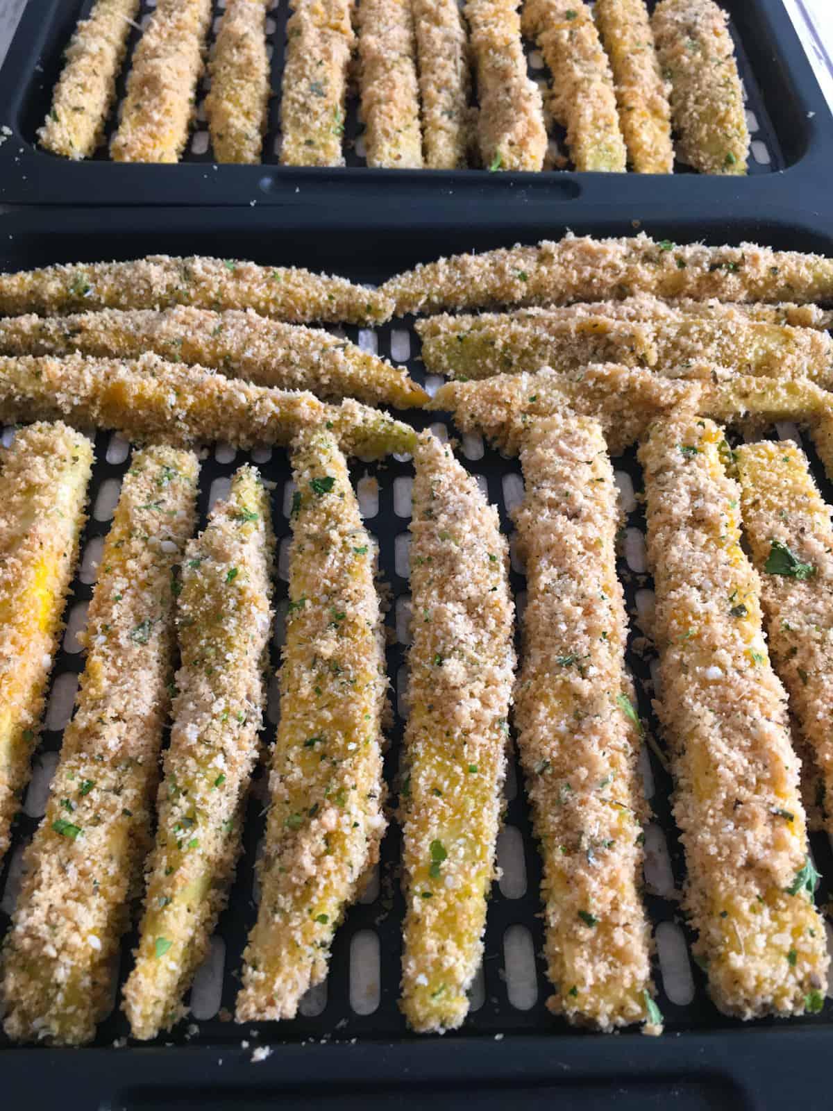 eggplant fries in air fryer
